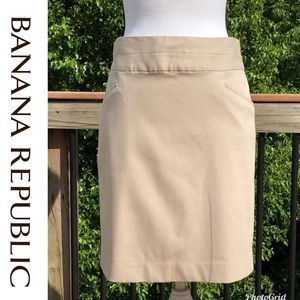 Banana Republic Skirts - Banana Republic Khaki Skirt